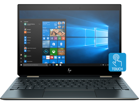 Ultrabook HP Spectre x360 13-aw0032nn 13.3 Full HD Touch Intel Core i7-1065G7 RAM 8GB SSD 256GB Windows 10 Home Plus Albastru