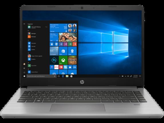 Notebook HP 340S G7 14 Full HD Intel Core i5-1035G1 RAM 8GB SSD 256GB Windows 10 Pro Argintiu