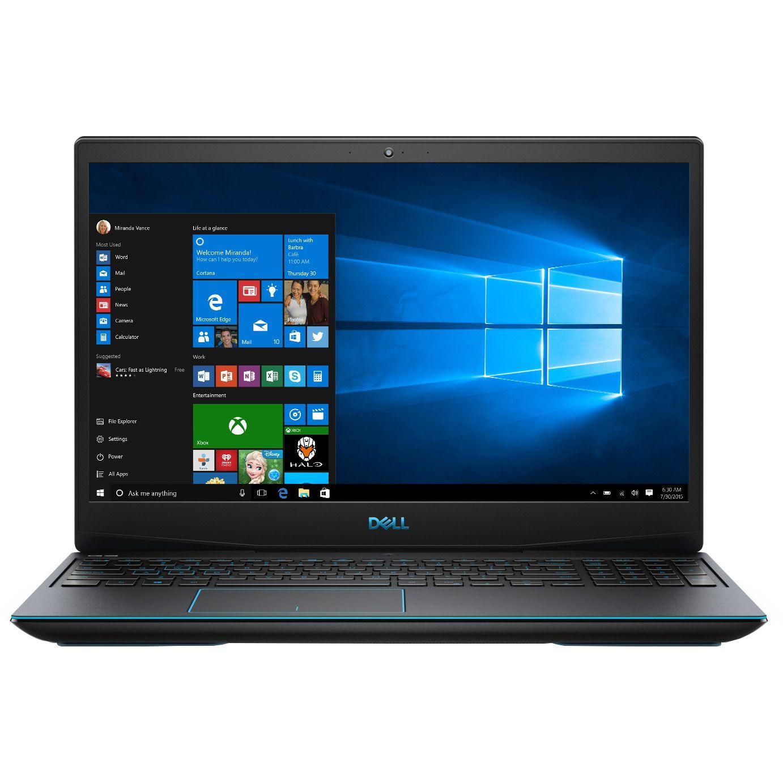 Notebook Dell G3 3590 15.6 Full HD Intel Core i5-9300H GTX 1660 Ti-6GB RAM 8GB SSD 512GB Windows 10 Home Negru
