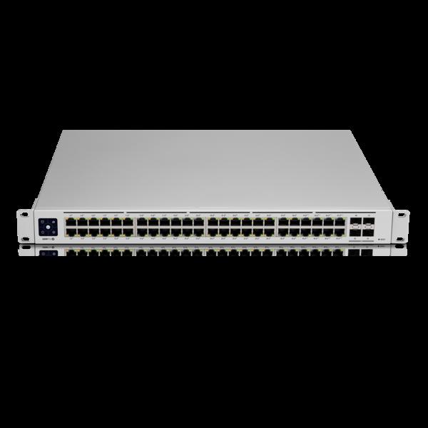 Switch Ubiquiti USW-PRO-48-POE cu management cu PoE 48x1000Mbps RJ45 + 4xSFP+