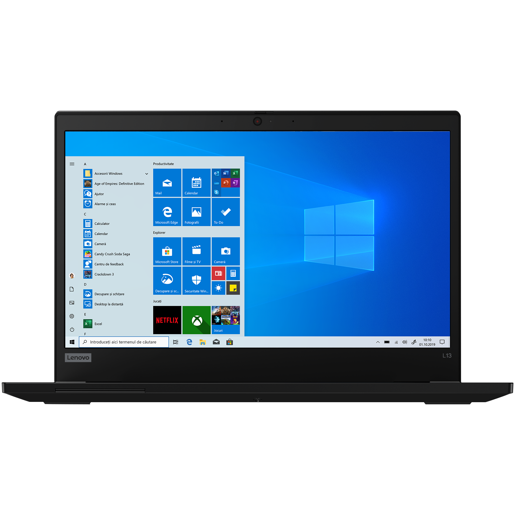 Notebook Lenovo ThinkPad L13 13.3 Full HD Intel Core i5-10210U RAM 8GB SSD 512GB Windows 10 Pro