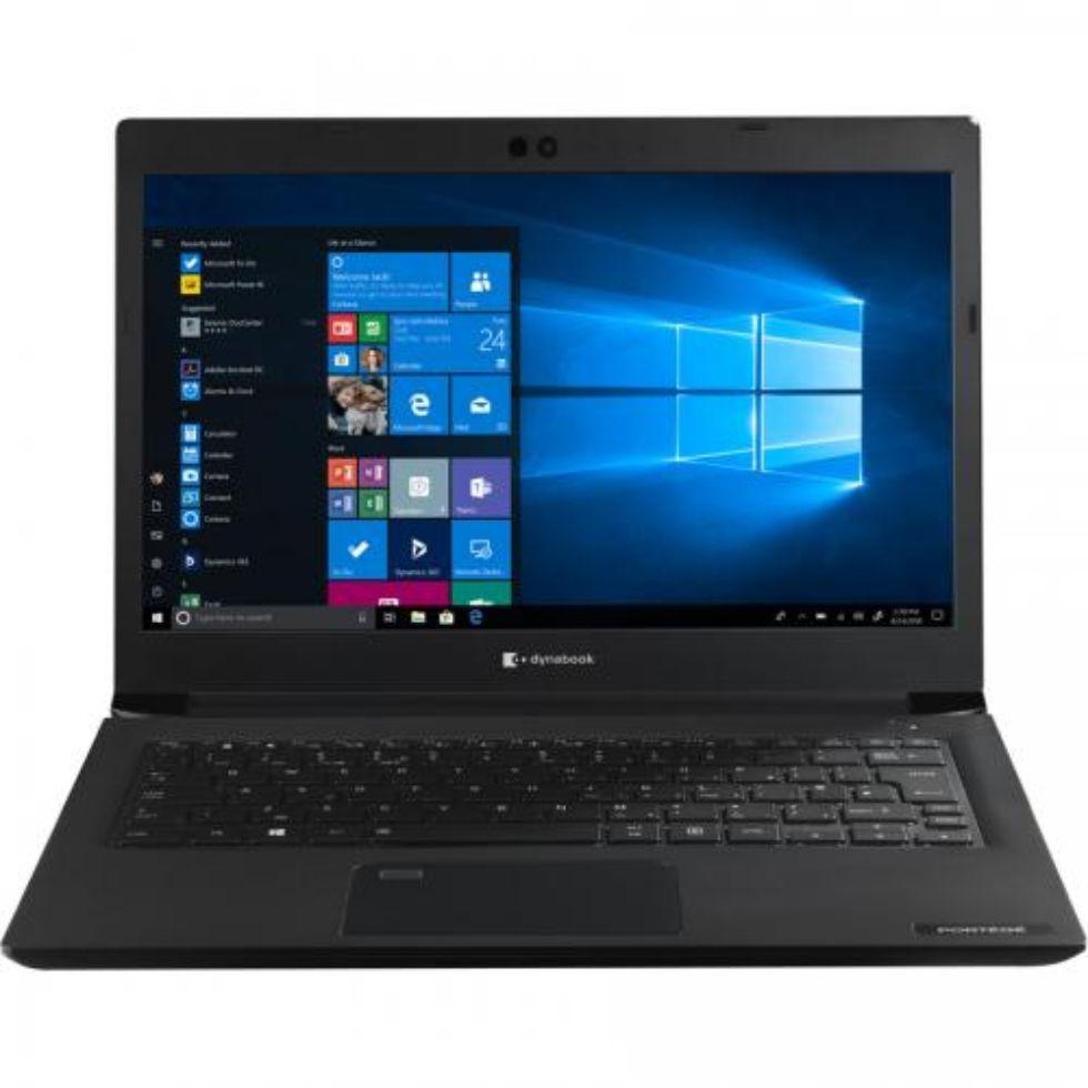 Notebook Toshiba dynabook Portege A30-E-161 13.3 Full HD Intel Core i5-8250U RAM 8GB SSD 256GB Windows 10 Pro Negru