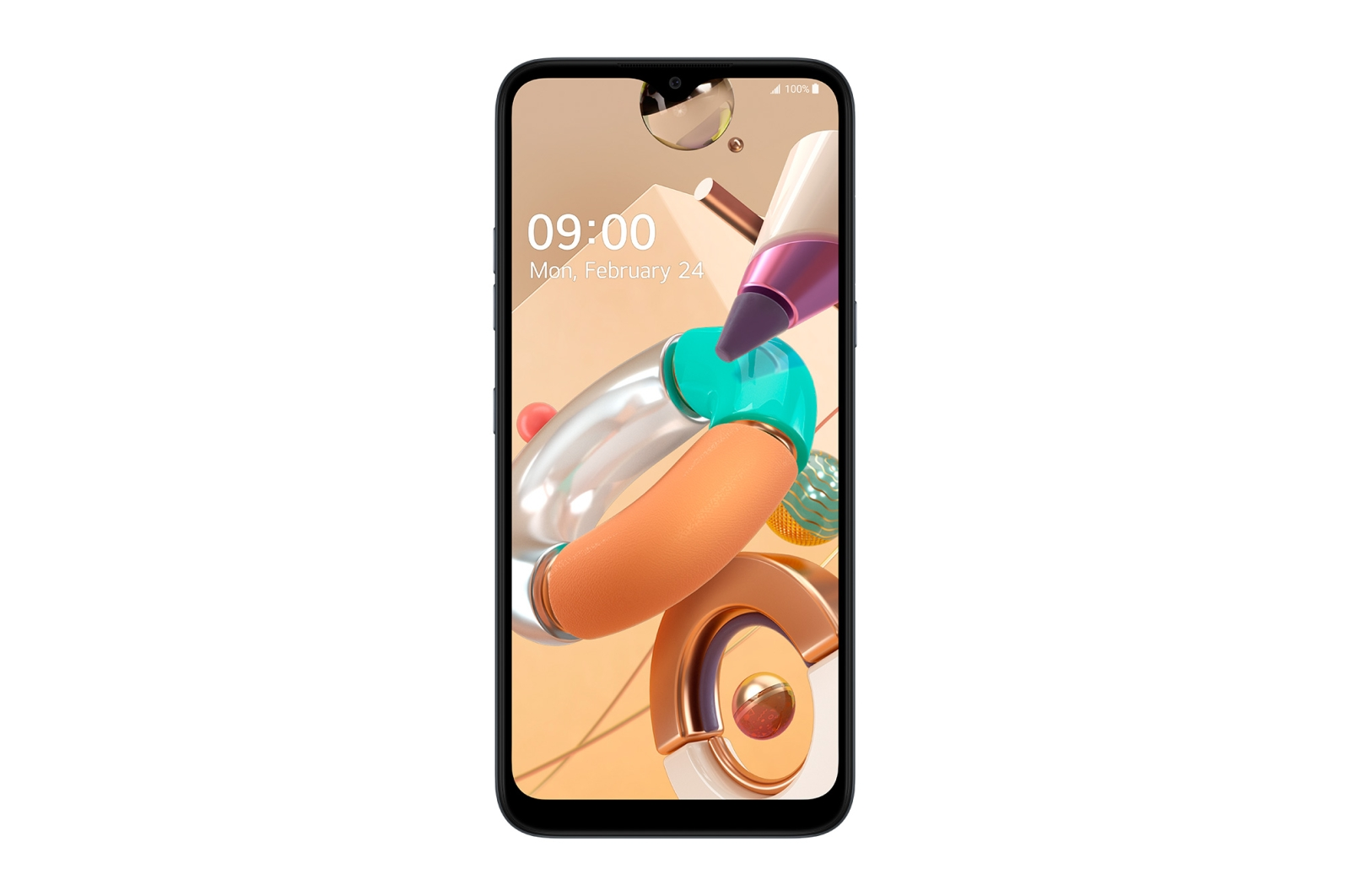 Telefon Mobil LG K41S 32GB Flash 3GB RAM Dual SIM 4G Titan