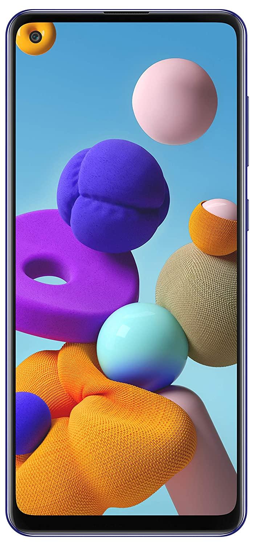 Telefon Mobil Samsung Galaxy A21S A217 32GB Flash 3GB RAM Dual SIM 4G Blue