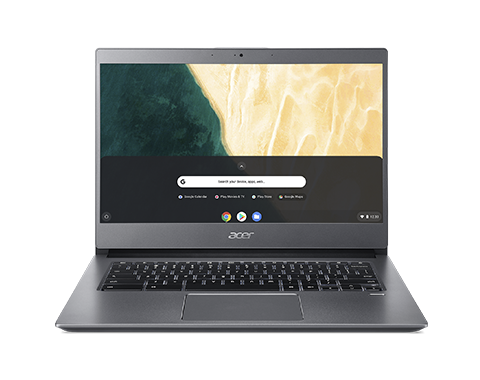 Ultrabook Acer Chromebook CB714 14 Full HD Intel Core i5-8350U RAM 8GB eMMC 128GB Chrome OS Gri