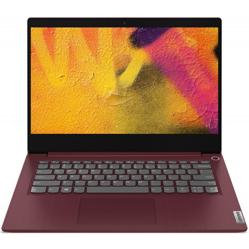 Notebook Lenovo IdeaPad 3 14IIL05 14 Full HD Intel Core i3-1005G1 RAM 8GB SSD 256GB No OS Rosu