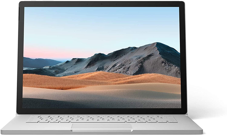 Ultrabook Microsoft Surface Book 3 15 Touch Intel Core i7-1065G7 GTX 1660 Ti-6GB RAM 16GB SSD 256GB Windows 10 Home Platinum
