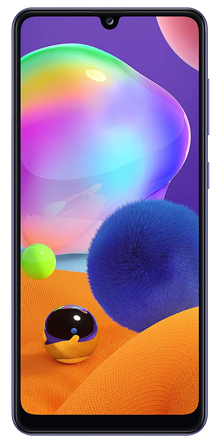 Telefon Mobil Samsung Galaxy A31 A315 64GB Flash 4GB RAM Dual SIM 4G Prism Crush Blue