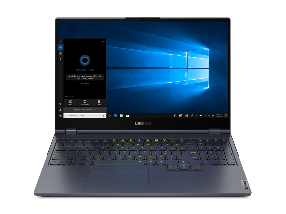 Notebook Lenovo Legion 7 15IMHg05 15.6 Full HD 144Hz Intel Core i7-10875H RTX 2060-6GB RAM 16GB SSD 512GB FreeDOS Gri