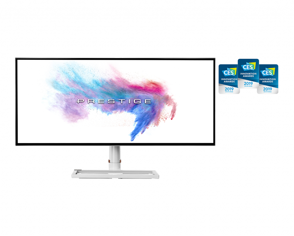 Monitor LED MSI Prestige PS341WU 34 5K2K WUHD 8ms Alb