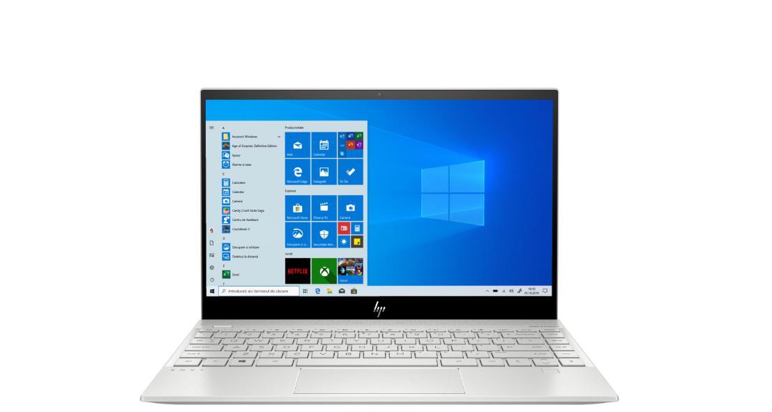Ultrabook HP ENVY 13-aq1014nq 13.3 Full HD Intel Core i7-1065G8 RAM 8GB SSD 512GB Windows 10 Home Argintiu