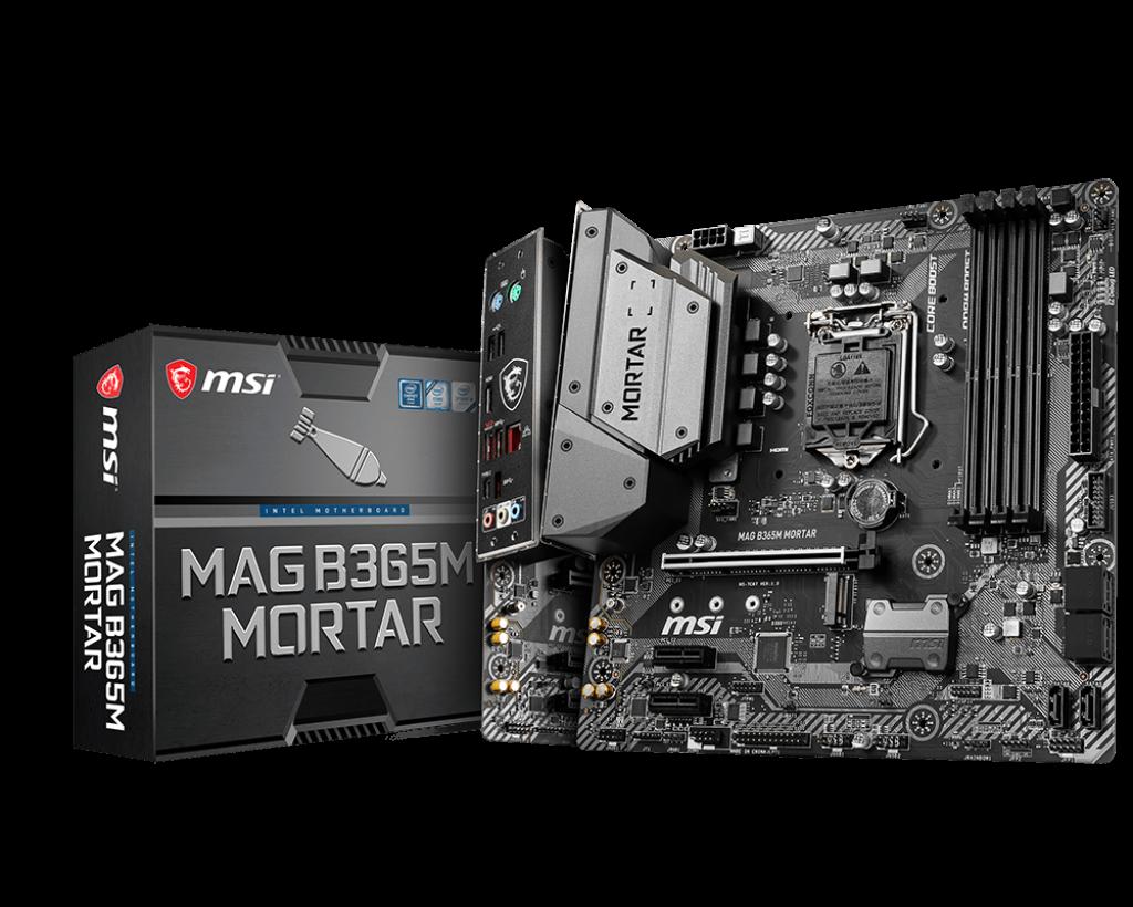 Placa de baza MSI MAG B365M MORTAR Socket 1200