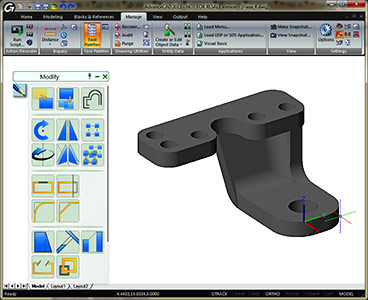 Advance cad aplicatie cad 2d 3d aplicatii desktop for Grafica 3d gratis